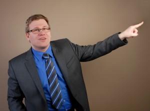 Trainer und Diplom-Wirtschaftsjurist Christian Barsch
