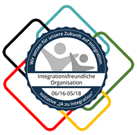 "Bild Logo Initiative ""Ja zu Integration"", job-konzept Zertifikate"