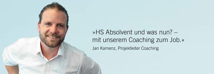 Slider HS-Absolvent und was nun? Mit unserem Coaching zum Job