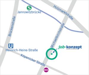 Standort Michaelkirchstraße Anfahrt