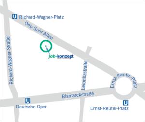 Standort Otto-Suhr-Allee Anfahrt