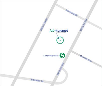 Standort Leunaer Straße Anfahrt