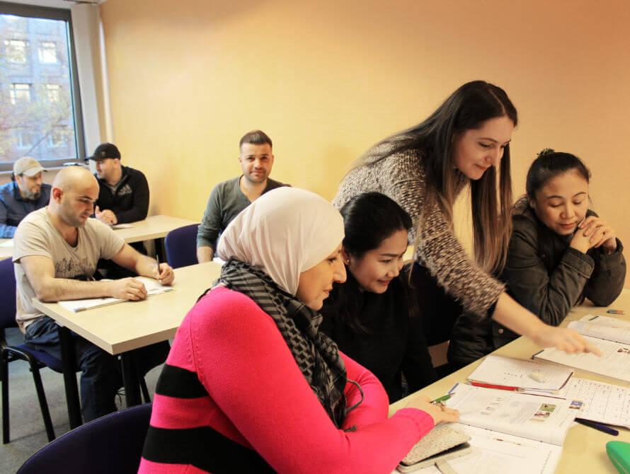 Sprachkurse Mit Teilnehmern